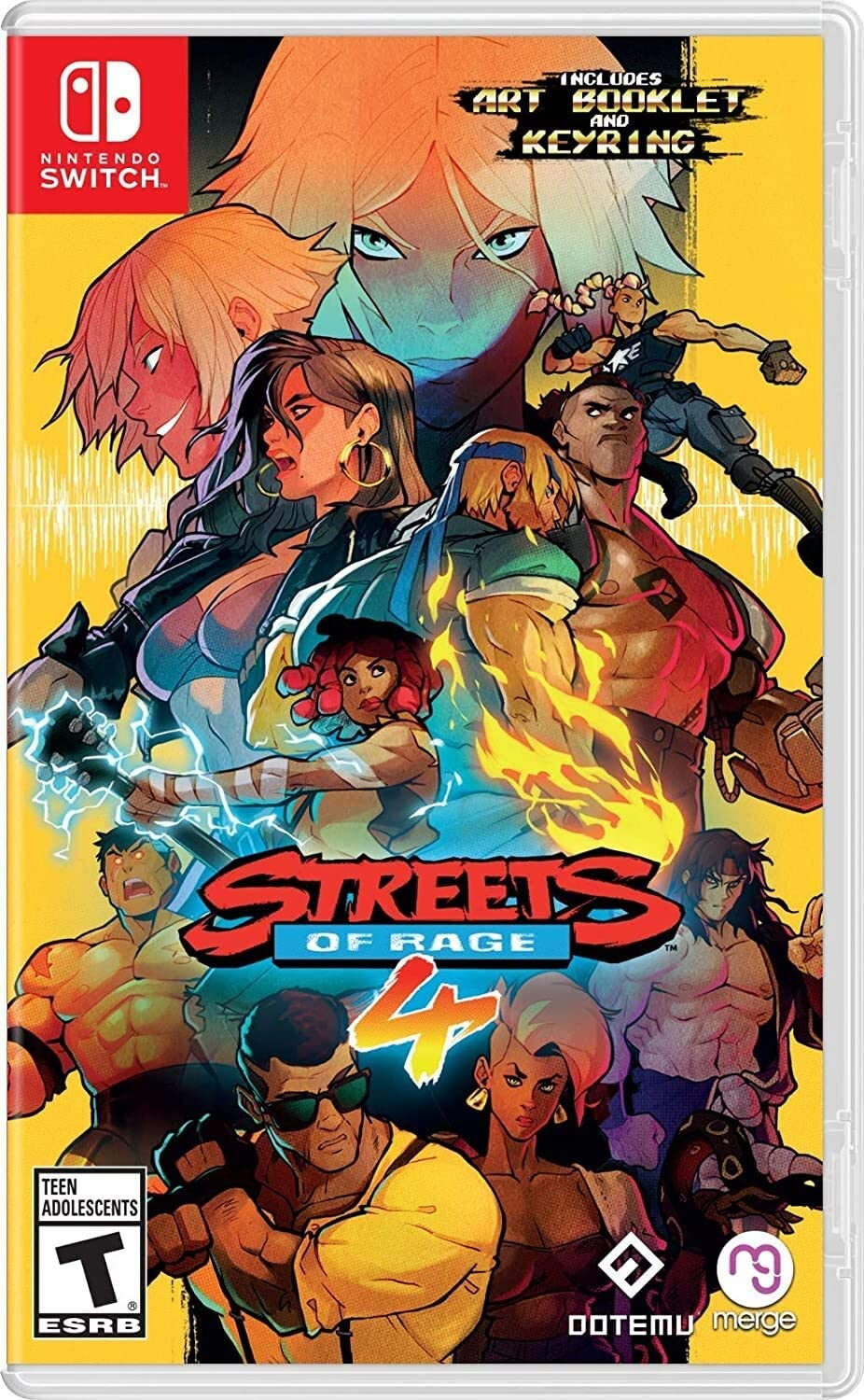 Streets Of Rage 4 - Standard Edition (Switch)